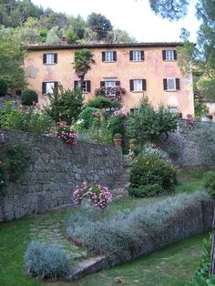 Bramasole in Cortona, Italy.  Frances Mayes has done a beautiful job restoring!