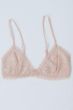 b875f045b2285 Pink Lace Bralette - Luca + Grae