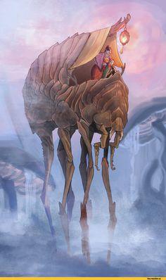 The-Elder-Scrolls-фэндомы-Morrowind-силт-страйдер-3124396.jpeg (811×1356)