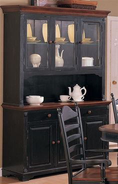 Cottage 2 Pc Buffet w Serving Hutch