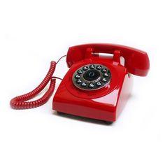 Teléfono de escritorio. Comunicate como en los 70's.