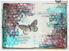 Finnabair: Learn To Love journal page; Feb 2015