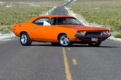 1972 Dodge Challenger My grandma had a car just like that.. Loved that car..