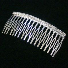 Crystal 4' Single Row Hair Comb *** Check out this great product.