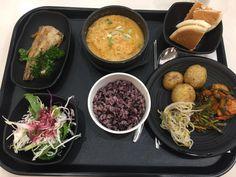 2016.10.5 점심. 구내 식당 백반