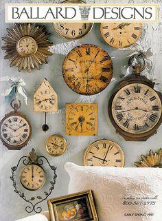 Ballard Desgins makes pretty clocks