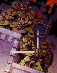 Teenage Mutant Ninja Turtles Artwork and wallpapers 1dut.com (14)