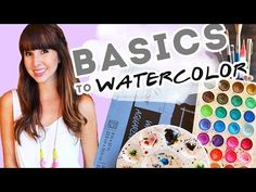 Watercolor Painting for Beginners - Tips and Tools for the Beginner - YouTube