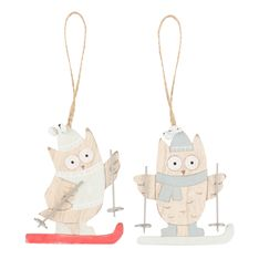 Playful and fun, these quirky owl ornaments make a great addition to your festive season tree. The kids will love hanging them and that will give you some time to make your famous holiday feast.
