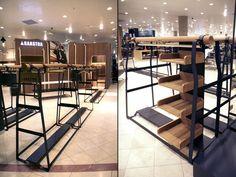 Gaastra Shop at Bijenkorf by Rotterdam The Netherlands fashion – Fixtures 2020 Retail Fixtures, Store Fixtures, Retail Store Design, Retail Shop, Visual Merchandising, Market Displays, Interior Work, Shop Interiors, Design Furniture