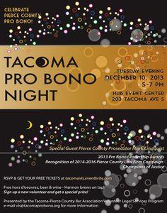 tacoma pro bono night - nice lively feeling for possible webpage
