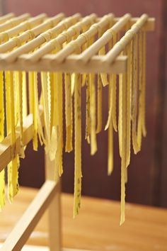 Fresh homemade pasta has a unique bite you can't get from dried pasta. And making it by hand isn't hard. So let's get to it!
