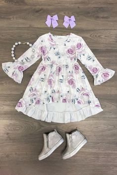 to actually a very large number made by hand, old, and special items and gifts regarding your desired search. Dresses Kids Girl, Cute Girl Outfits, Cute Outfits For Kids, Toddler Girl Outfits, Toddler Fashion, Kids Fashion, Toddler Boutique Clothing, Stylish Toddler Girl, Hi Low Dresses