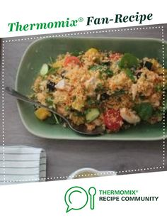 Warm Chicken, Pumpkin and Couscous Salad by Thermomix in Australia. A Thermomix <sup>®</sup> recipe in the category Main dishes - meat on www.recipecommunity.com.au, the Thermomix <sup>®</sup> Community.