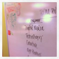#Office #Tour 2 - #Brainstorm Board #digital #media #doodle
