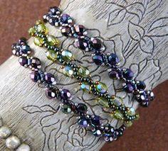 Beginning Bead Weaving Bracelet By: Cathie Reichert