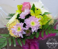 Flores en burbuja para el día de la Madre