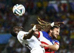 Jogo EUA-Gana  REUTERS/STEFANO RELLANDINI