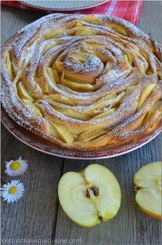 Tarte briochée à la pomme KKVKVK # 55 - Le blog de C'est Nathalie qui cuisine