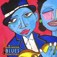 San Diego Blues Festival is the annual fundraiser for the San Diego Food Bank. Sept. 6 - 7, 2014, Embarcadero, Marina Park North