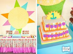 Girls Birthday, First Birthday Ideas, You Are My Sunshine, Party Inspiration