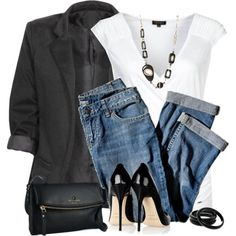 Simple date night outfit!