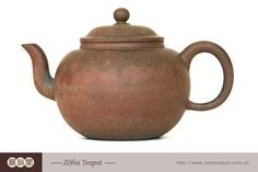 : Antique Style Yixing Zisha Tea Pot  Item: ZS04  Name: Antique Style Yixing Zisha Tea Pot  Region of Origin: China  Primary Material: Porcelain,pottery  Yixing clay (Zisha) is famous because the good quality soil from that region creates clay that producesnice and collectible art pieces teapot or pot. Besides the material, the value also comes from the shapeand the art work on the surface, the calligraphy or the graphic sometimes from skillful artists.