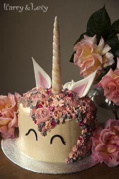 Picture Of DIY cutest pastel unicorn cake