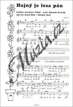 Výsledek obrázku pro noty k písním z pohádek