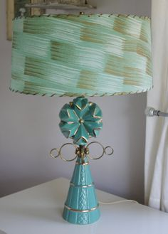 Vintage This is the WOW FACTOR Of Retro Lamps by CELESTESCHALL