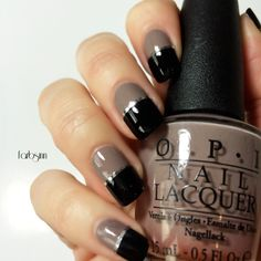 OPI • Berlin There Done That | p2 • eternal | striping tape