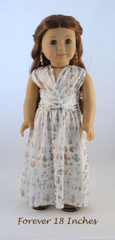 Infinity Dress fits 18 American Girl Dolls by Forever18Inches
