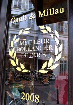 Bakery :: Du Pain et Des Idees 4 rue Yves Toudic 75010 Paris Glass Signage, A Moveable Feast, Sidewalk Cafe, Sign Display, Lovely Shop, Unique Architecture, Shop Fronts, Paris Travel, Rue