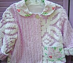 cute child's jacket from chenille