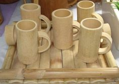 Bamboo box Vietnam - Round shape, great quality, various type. We can supply and making as custom demand. We have competive scoure bamboo and worker Bamboo Cups, Bamboo Art, Bamboo Crafts, Wooden Crafts, Bamboo Roof, Bamboo House Design, Bamboo Structure, Bamboo Construction, Bamboo Architecture