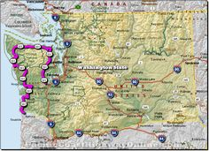 Pacific Coast Highway...Washington State...start of West Coast trip.