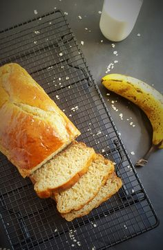 Quick and Easy Healthy Banana Bread, No sugar, no oil and made in one bowl for easy clean up.