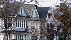 Houses in West New Brighton, Staten Island.