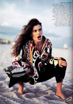 "Vogue US March 1989, ""Mix It Up!"""