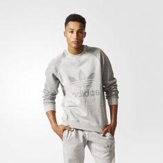 Sport Essentials Crew Sweatshirt - Grey