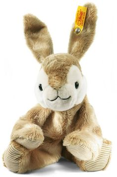 Dormili Rabbit Brown with Free gift box by Steiff EAN 080050