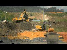 Avances de la Ampliación del Canal de Panamá - Junio 2015