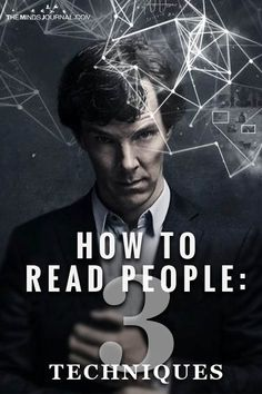 If you want to read people, you have to remain objective and receive information neutrally without distorting it. Try these three techniques: Psychology Fun Facts, Psychology Books, Reading Body Language, Mind Reading Tricks, Self Development Books, How To Read People, How To Influence People, Low Self Esteem, Self Improvement Tips