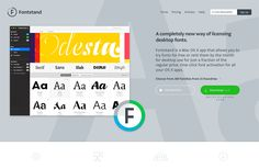 Top 10 Websites for Designers—Fontstand