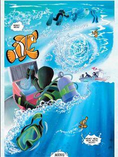 Findet Nemo | iOS interaktiver Comic | iPad iPhone