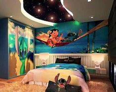 Kids' bedroom ideas: go big, or go home we say. Decorating a kids' room doesn't mean you have to scrimp on style. Dream Rooms, Dream Bedroom, Kids Bedroom, Bedroom Decor, Bedroom Ideas, Baby Bedroom, Disney Kids Rooms, Disney Bedrooms, My New Room