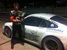 Andrea Boffo, sesto classificato nella 6 Ore di Misano 2012 in livrea mentalitasportiva.it