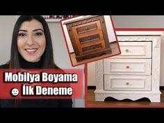 Komodin Boyama Örneği   Mobilyaloji TV - YouTube
