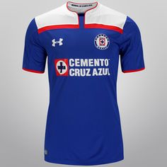 Jersey Under Armour Cruz Azul Casa MDC 2014 s/n° - Netshoes