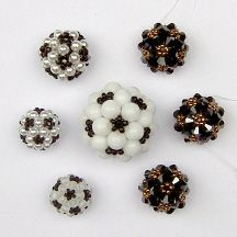 Icosahedron Bead Ball by Chris Prussing